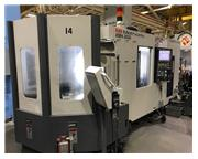 2017 Pre Owned Kiwa KMH 300, PC 10-120 Tool Horizontal Machining Center