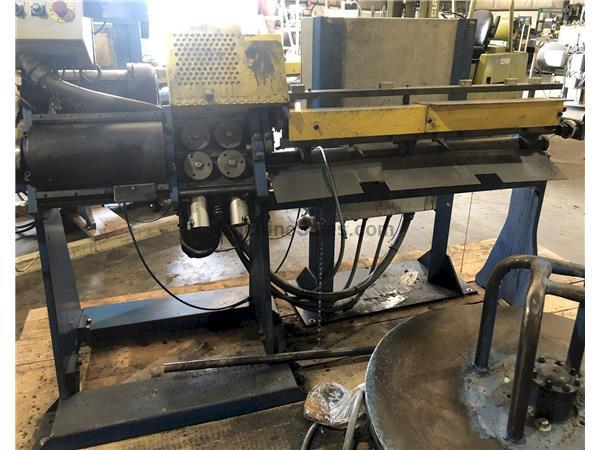 "1/4"" RMG Model 14 Wire Straighten & Cut Machine"