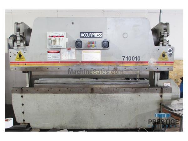 Accurpress 710010 100 Ton Hydraulic Press Brake