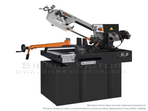 COSEN Manual Swivel Head Mitering Horizontal Bandsaw MH-270M