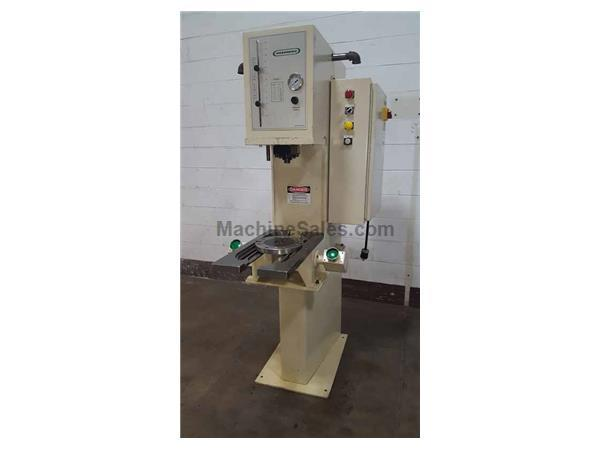 7-TON GREENERD MODEL HPB-7 BENCH MOUNTED HYDRAULIC PRESS