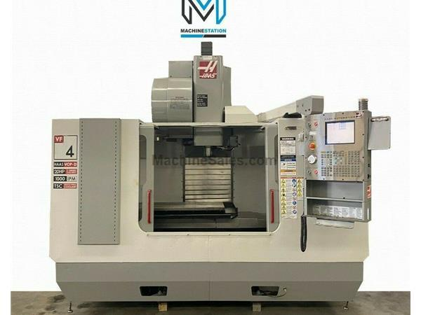HAAS VF-4D VERTICAL MACHINING CENTER