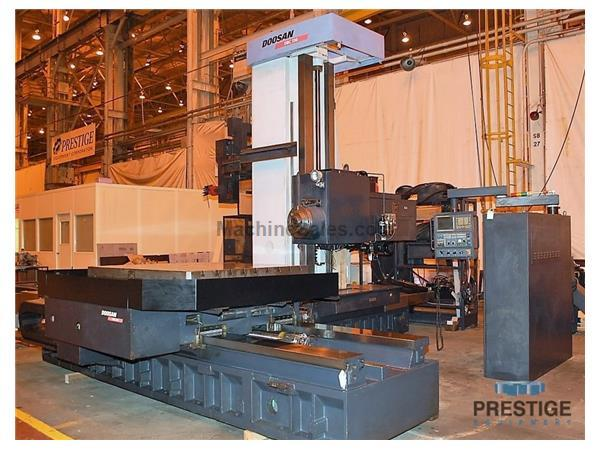 Doosan DBC-130 CNC Table Type Horizontal Boring Mill
