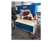 110 ton Mubea Hydraulic Ironworker, Dual Operator