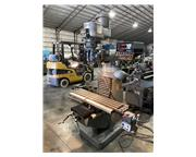 """9"""" x 48"""" Bridgeport Mill, 2-axis DRO, Power Travel, Way Covers"""