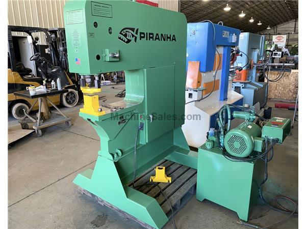 120 ton Piranha Hydraulic Single End Punch, SEP-120