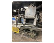 Wheelabrator 5 Cu. Ft. 27 x 36 TUMBLAST Machine, S/N: A135084 BLAST CLEANER, Conveyor, 15