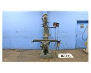 "48"" Table 2HP Spindle Bridgeport SERIES I VERTICAL MILL, Vari-Speed, Universal Kwik S"