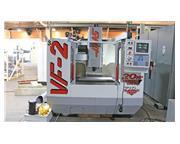 "30"" X Axis 16"" Y Axis Haas VF-2 VERTICAL MACHINING CENTER, Haas Control, 20 ATC,"