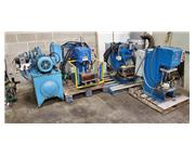 3 HYDRAULIC PRESSES with HYDRAULIC SYSTEM
