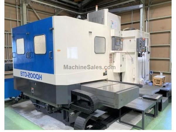"Toshiba BTD-200QH 4.3"" CNC Table Type Horizontal Boring Mill"