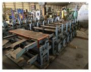 14 Stand Bradbury Double High Rafted Rollformer, A-Panel Tooling