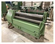 """3/8"""" x 6' Heisteel Hydraulic Plate Bending Roll, Angle Attachment"""