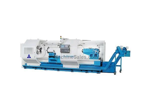"45""X120"" ACRA MODEL CL-68C HOLLOW SPINDLE CNC FLAT BED LATHE WITH FANUC OITD CONTROLLER"