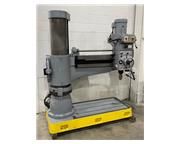 "4'x12""Sharp RD-1230,5HP,Pwr. Elev. & Clamp,Drilling Cap. 2-3/1"