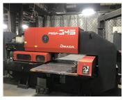 "1990 Amada Pega345Q CNC Turret Punch, 33 Ton, 40"" x 50"" Travels"