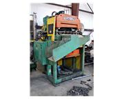 "24"" x .187"" LITTELL Coil Peeler, Flattener, Crop Shear and Feeder"