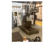 """5' Arm Lth 15"""" Col Dia Nardini FRN-60/1600 RADIAL DRILL, Power Elevation  Clamping, #"""