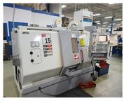 """20"""" Swing Haas TL-15 CNC LATHE, Haas CNC. Parts Catcher, Subspindle"""