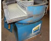 USED WALTHER TROWAL MODEL CD 400 8.83 CU. FT. VIBRATORY BOWL, Stock # 10807