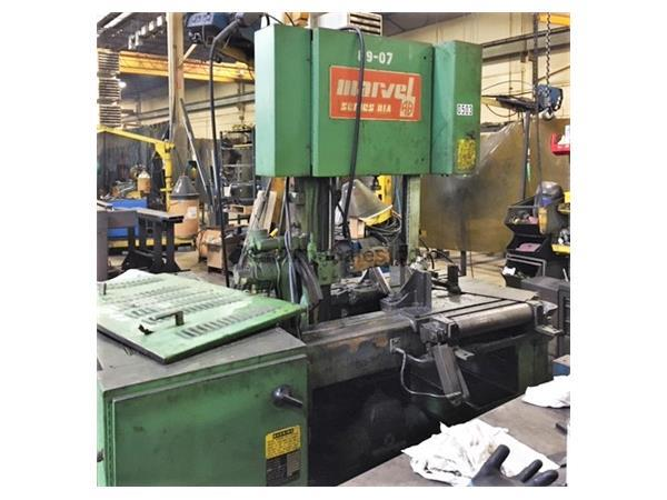 "18"" x 20"" MARVEL SERIES 81A10/PC VERTICAL BAND SAW"