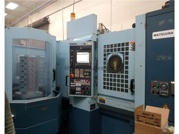 MATSUURA HPLUS 300PC11 , G-TECH 840 CNTRL NEW: 2007