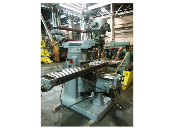 "BRIDGEPORT Series II Special, 11"" x 58"" Table, DRO, Shaping Attch"