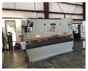 1997 Accurpress 725012, 12' x 250 Ton 2 Axis CNC Hydraulic Press Brake