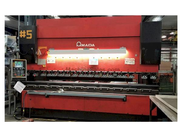 2001 Amada HFE2204, 14' x 242 Ton CNC Hydraulic Press Brake