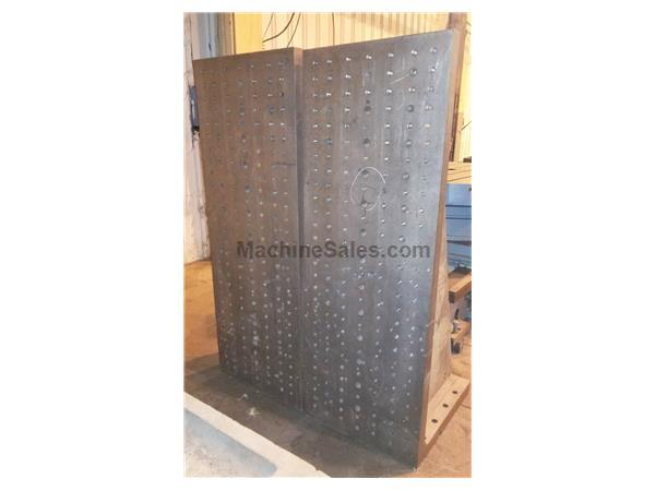 "Angle Plates 72"" x 26"" x 30"" Drilled & Tapped (2)"