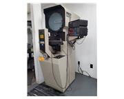 "14"" Screen Micro-Vu S-14, S/N: Q-16 DRO, EDGE DET. OPTICAL COMPARATOR, 10X LENS, 12&q"