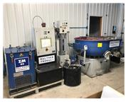 WALTHER TROWAL COMBINATION CD 400 VIBRATORY BOWL AND ZM 03 WATER CLEANING CENTRIFUGE SYSTE