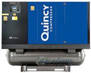73 cfm, 125 psi, Quincy # QGD-15 , rotary air compressor, 15 HP, Airlogic 2 controller, #S