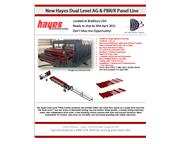Hayes International Dual Level Ag/R Panel Line