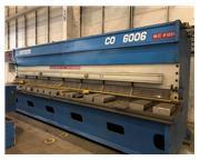 """2008  1/4"""" x 20' Gasparini CNC Hydraulic Shear"""
