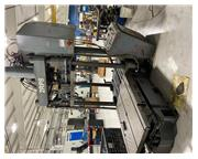 "90 Ton, Reis # TUS-90-OK slide out table, swing out upper platen, 40"" Shut Height, 48"