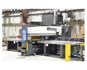 Whitney 3400-XP 40 Ton CNC Punch & Plasma Fabricating Center