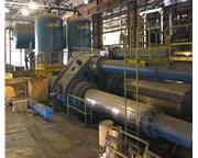 12,500 ton Loewy Water Hydraulic Extrusion Press w/Piercing Mandrel System