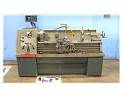"""15"""" Swing 50"""" Centers Clausing-Colchester 8033 ENGINE LATHE, Inch/Metric,Gap,Acu"""