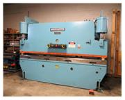 "135 Ton 144"" Bed Niagara HBM135-10-12 PRESS BRAKE, ZAKRON CNC SINGLE AXIS BACK GAUGE"
