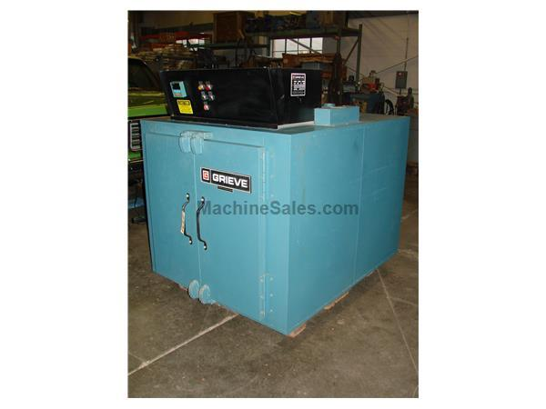 "Grieve Cabinet Oven #AG-500 36"" x 36"" x 48""L 500F"