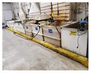 Used 10-Station Zinc Barrel Plating Line