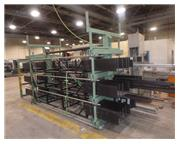 "SSS ""SPACESAVER"" #4T-2G-24X12R-20' ROLL-OUT CANTILEVER RACK SYSTEM"