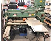 "10GA. x 52"" Wysong Mechanical Shear Model 1052 F.O.B.G"