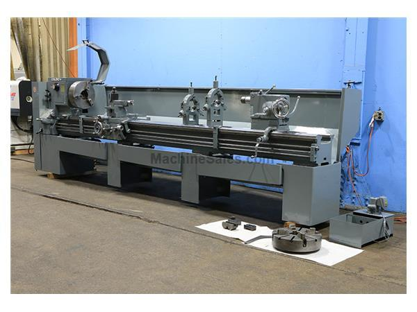 "25"" Swing 144"" Centers LeBlond Regal ENGINE LATHE, Inch/Metric, 3"" Hole, 3-Jaw, Steady,Toolpost,10HP"
