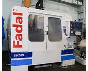 "30"" X Axis 20"" Y Axis Fadal VMC 3020 VERTICAL MACHINING CENTER, Fadal 4-Axis Cnt"