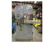 DoAll 1612-3 Vertical Band Saw