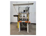 4-TON NEFF MODEL H4-5M 4 POST HYDRAULIC PRESS