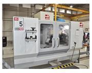 "40"" X Axis 18"" Y Axis Haas ES5-4T HORZ MACHINING CENTER, Haas Control,HRT 210H R"