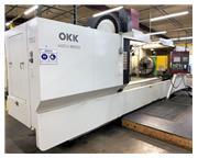 """3117, OKK, KCV-800, 120"""" X Travel, 4th Axis CNC Vertical Machining Cnt"""